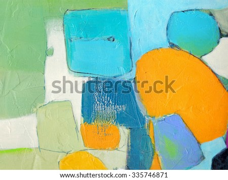 Textured abstract painting. Hand painted background