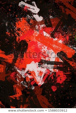 abstract expressionist brush stroke painting art