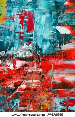 Abstract painting. Art is created and painted by photographer.