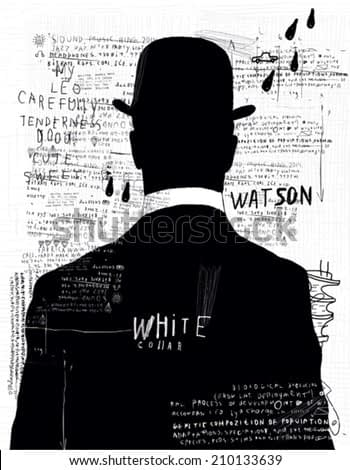 A man in a hat who turned his back on us