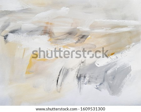 Light Color Abstract Art Painting. Modern art.