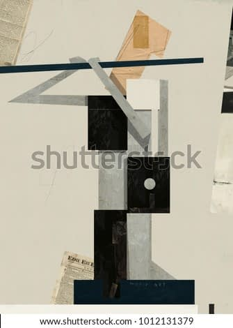 Abstract image of a musician who plays the flute