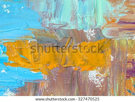 original oil painting brush strokes texture background
