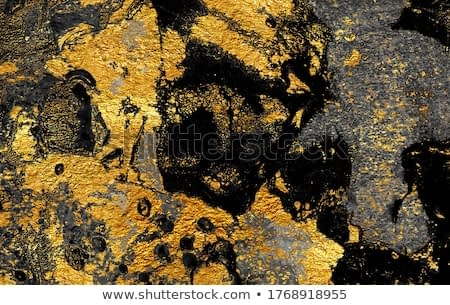 Golden swirl, artistic design. Suminagashi – the ancient art of Japanese marbling. Paper marbling is a method of aqueous surface design. Black and gold paper texture.