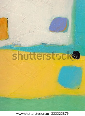 Textured abstract painting. Hand painted background.