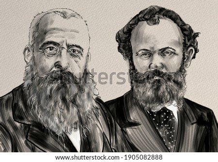 Oscar-Claude Monet and Édouard Manet were french artists.