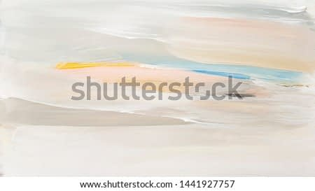 Abstract art painting landscape. Modern art background.