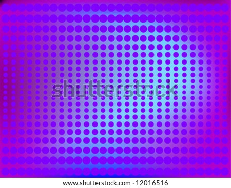 Shaded Halftone Background in Blue vector.