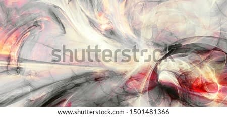 Abstract grey and red future background. Dynamic painting texture. Modern futuristic pattern. Fractal artwork for creative graphic design