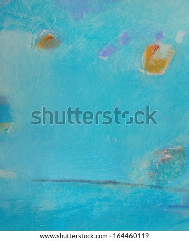Abstract grunge background - brush strokes on paper with space for text