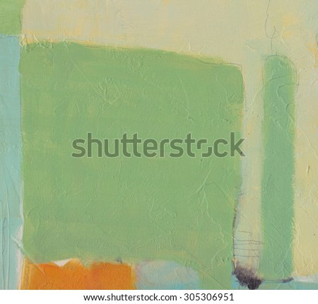Hand painted abstract background - brush strokes on paper with space for text. Textured background.