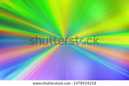 Light Pink, Green vector abstract bright template. A completely new colored illustration in blur style. New style for your business design.