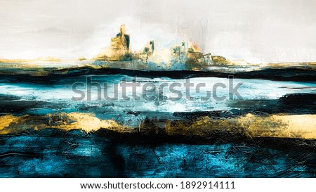 Abstract oil texture background. Paint on canvas. Modern art. Contemporary art.
