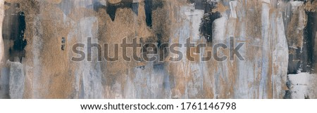 Abstract acrylic painting. Modern art. Beautiful hand painted image for creative design of posters, cards, invitations, prints, banners, websites and wallpapers. Horizontal image.