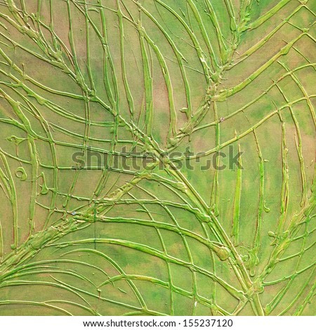 art abstract painted background with red, green, yellow and orange colors