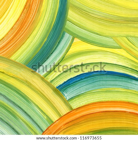 Abstract acrylic painting background