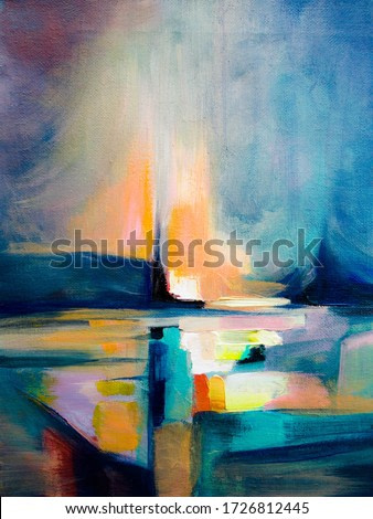 Abstract oil texture background. Paint on canvas.