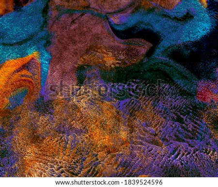 Abstract colorful background, animal print. Watercolor painting with splashes, drops of paint, paint smears. Design for the  fabric, wallpapers, covers and packaging, wrapping paper.