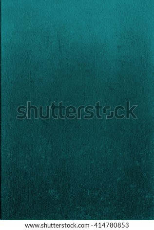 Abstract painting on canvas with color gradient from dark aquamarine to bright. Abstract hand painted background texture perfect for text.