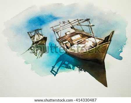 Dhow - Painting