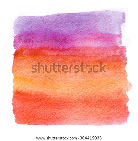watercolor background with color transition