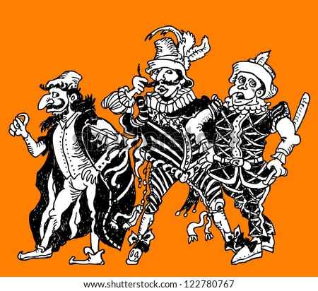 Commedia dell'Arte Characters