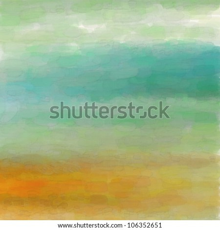 Digital structure of painting. Watercolor background