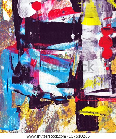 abstract acrylic painting, art texture