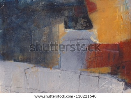 Abstract textured background.  Hand painted.