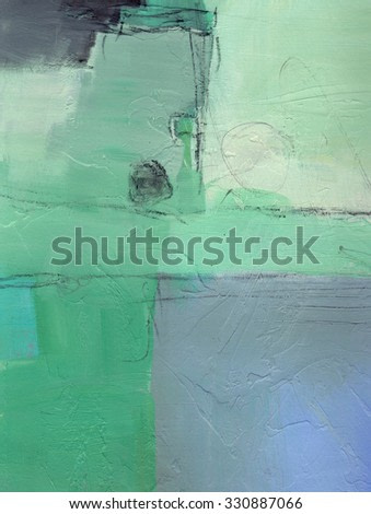 Textured abstract painting. Hand painted background with space for text.