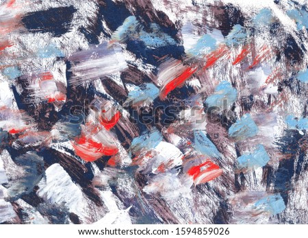 Fractal artwork for creative graphic design for background.Violet, white, red and blue color dynamic backgrounds.Bright artistic splashes.Abstract painting color texture.Modern futuristic pattern.