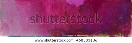 Abstract painting background. Flowers painting. Oil on canvas  Hand drawn oil painting.Color texture. Fragment of artwork.  Modern art. Contemporary art.