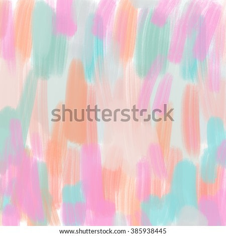 Colorful Modern Art. Abstract Painted Background