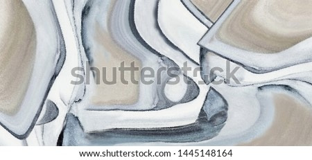 Collection of designer oil paintings. Decoration for the interior. Modern abstract art on canvas. Banner, beige, white, blue.