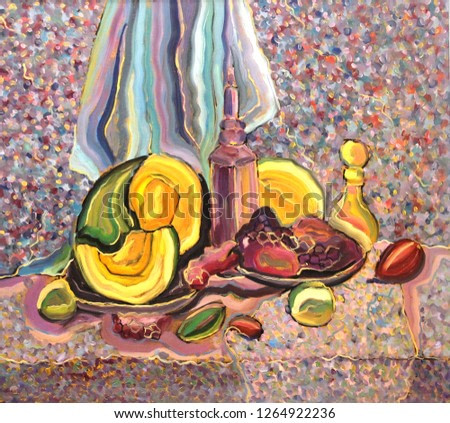 Juicy fruits and vegetables