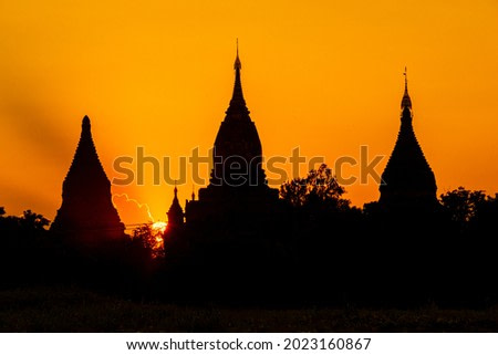 magnificent silhouettes from myanmar bagan