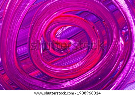 abstract paint background with spiral