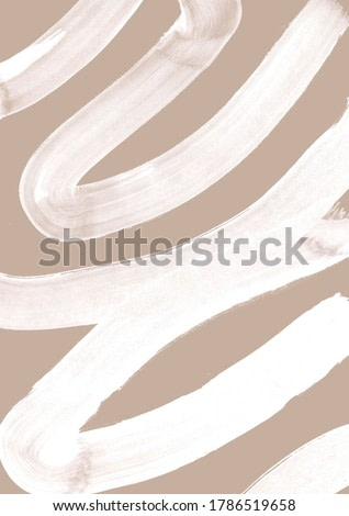 mid century neutral beige wall art abstract art contemporary pastel brush stroke art modern calligraphy artwork natural neutral tones painting waves