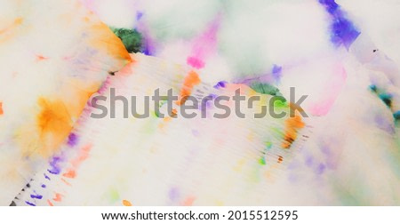 Multicolor Abstract Dirty Art. Dirty Art Background. Watercolor Print. Wet Art Print. Brushed Banner. Light Brushed Graffiti. Tie Dye Print. Bright Aquarelle Texture. Fancy Tie Dye Patchwork.