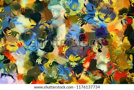abstract background texture blurred chaotic brush strokes stylized watercolor paint