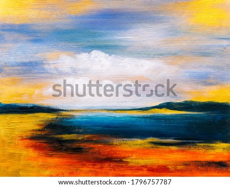 Oil Painting - Abstract Landscape