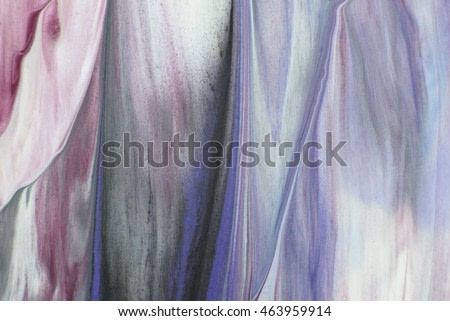 Expressive brushstrokes. Hand drawn painting. Abstract art background. Color texture. Fragment of artwork. Spots of paint. Brushstrokes of paint. Modern art.