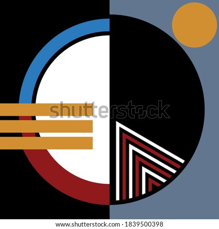 Colorful modern abstract  background.EPS10 Illustration.