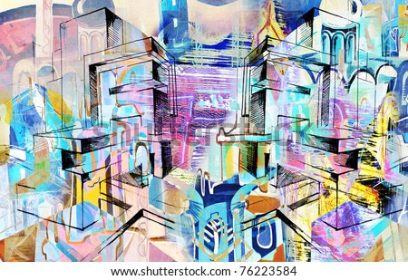 city-abstract