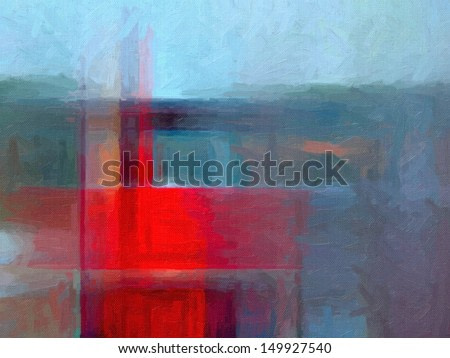Digital structure of painting. Oil paint background