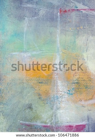 Textured abstract painting. Handpainted background.