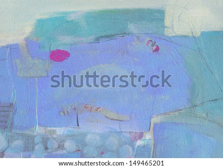 Abstract background - brush strokes on paper with space for text.