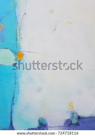 Textured abstract painting. Hand painted colorful background.