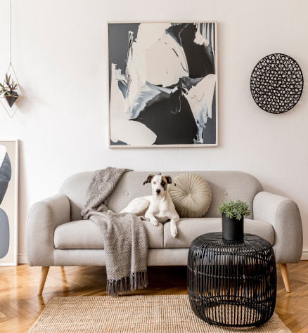 Preppy style canvas and paper wall art prints