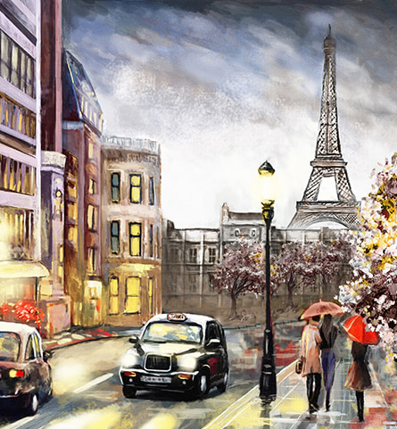 Famous Places Canvas and Paper Wall Art Prints from Wall Décor Galore